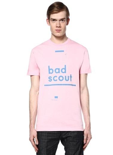 Dsquared2 Baskılı Tişört Pembe